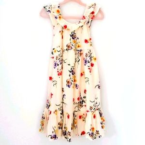 Old Navy Floral Print Sleeveless Sundress sz 5T
